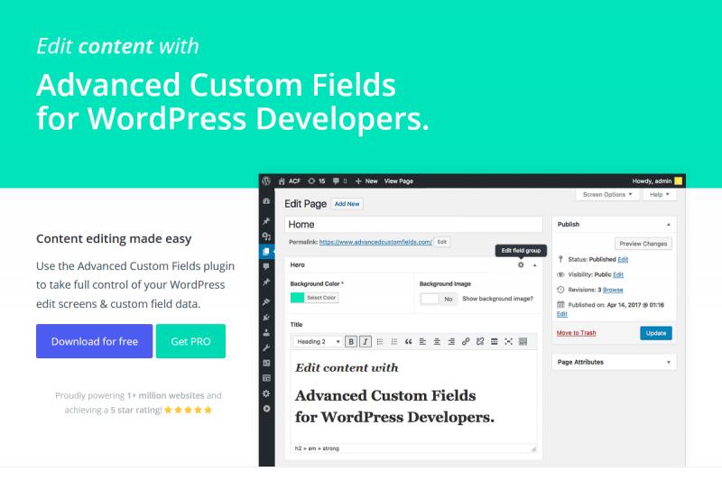 WordPressプラグイン「ACF Advanced Custom Fields」のアイキャッチ画像