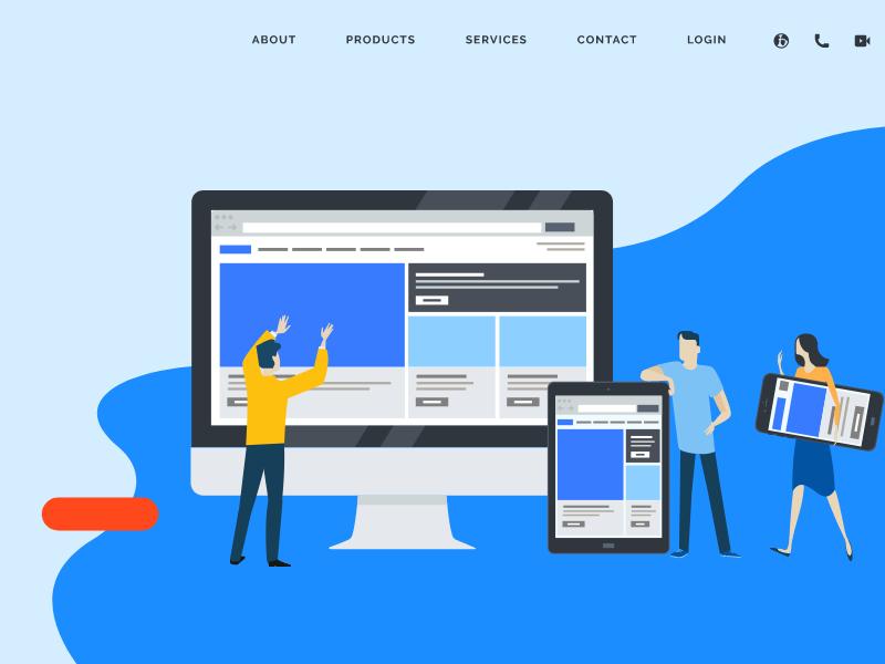 ホームページは御社の「インターネット上の顔」他社とのサービスの差別化を明確にするための重要なツール